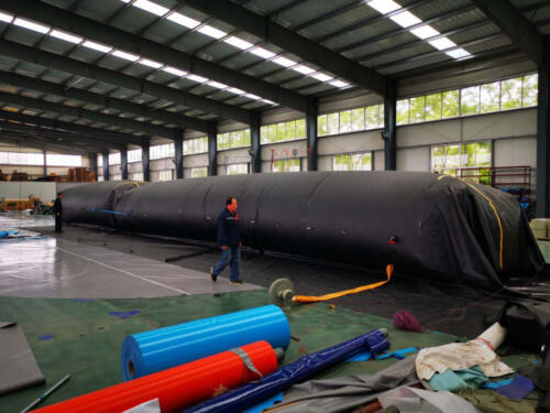Factory Test-Over-inflation of 6 foot barriers